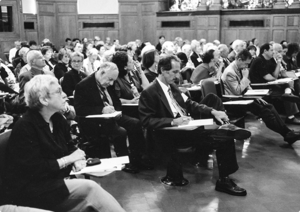 Attendees of a workshop